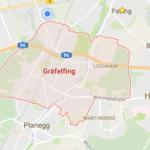 Unser Anfahrtsgebiet befindet sich mitunter in Gräfelfing.