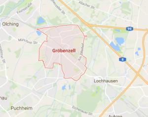 Unser Anfahrtsgebiet befindet sich mitunter in Gröbenzell.