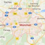 Unser Anfahrtsgebiet befindet sich mitunter in München.