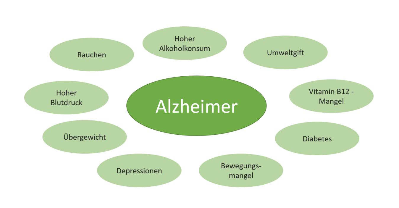 Die Ursachen einer Alzheimer Erkrankung